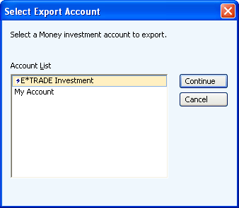 how to export your investment portfolios from microsoft money plus rh stockmarketeye com microsoft money 2005 user guide microsoft money plus sunset user guide
